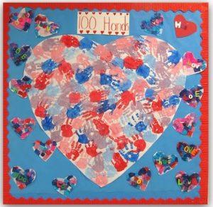 Mother's day hearth themed bulletin board ideas for preschool