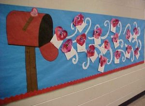 Mother's day letter themed bulletin board ideas for preschool