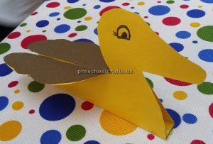 Preschool duck craft