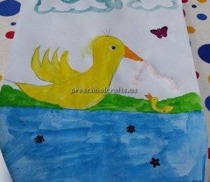 Preschool duck in the sea craft ideas