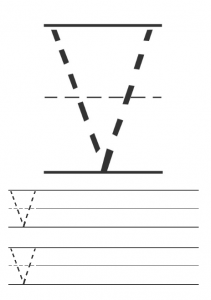 Printables uppercase letter v worksheet