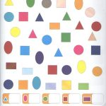 Shapes teaching worksheet for preschool and Kindergarten