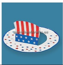 Uncle Sam Hat Craft for Memorial Day