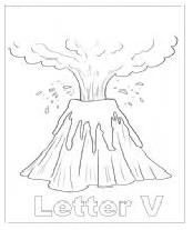 Uppercase letter V coloring pages worksheet for preschool