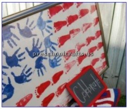 celebrate memorial day craft preschool