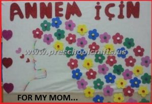 firstgrade bulletin board ideas on mothers day