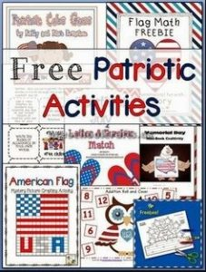 free patriotic activities ideas for preschool