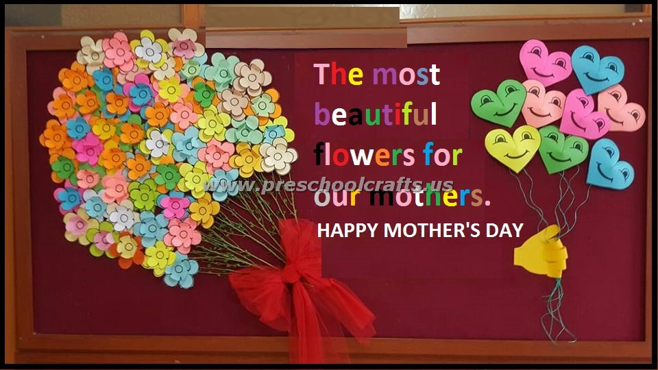 Mother S Day Classroom Decoration Ideas : Happy mothers day bulletin board ideas preschool crafts