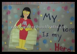 hero moms demonstration boards for kindergarteners