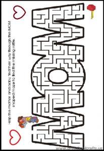 kindergarten free printable mothers day worksheets