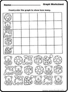 kindergarten graph printable worksheet