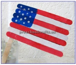 memorial day flag craft ideas for preschool