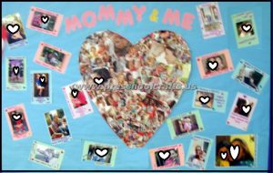 mom and me bulletin boards for preschool