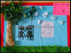 mothers day bulletin boards for primary school