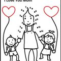 mothers day kids workpages