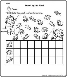 preschool free graph worksheets