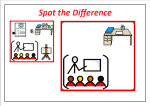 spot and find the difference worksheet