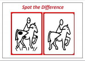 spot the difference worksheet