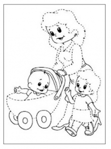 tacing worksheets for preschool baby and momy