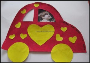 Fathers Day Craft for Preschool and Kindergarten