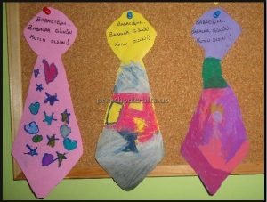 Happy Father's Day Craft Idea for Preschool and Kindergarten