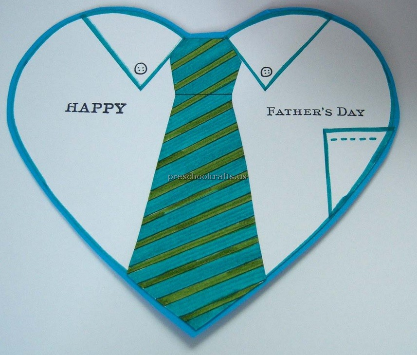 Kids Craft Ideas For Fathers Day Part - 42: Happy Fathers Day Craft Ideas For Preschool And Kindergarten