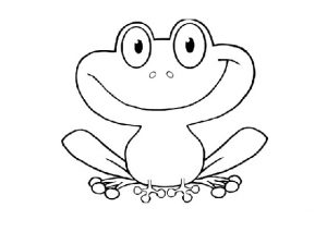 frog coloring pages preschool and kindergarten