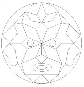 Free Printable Mandala Colouring Pages for Preschoolers