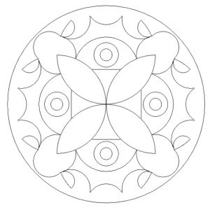 Free Printable Mandala Colouring Pages for Primary School