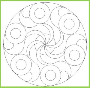 Mandala Coloring Page for Kids - Free Printable
