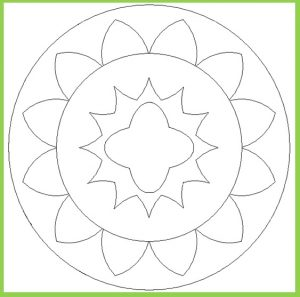 Mandala Coloring Pages for Kid - Free Printable