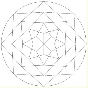 Mandala Coloring Pages for Kindergarten - Printable