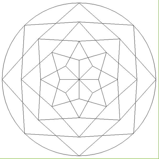Mandala Coloring Pages for Kindergarten