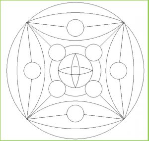 Mandala Coloring Pages for Preschool - Printable
