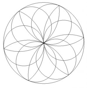 Preschool Mandala Coloring Page - Free Printable
