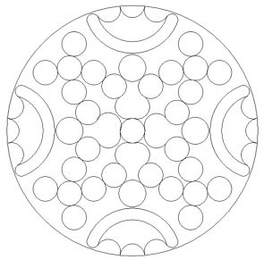 Printable Mandala Coloring Pages for Kid