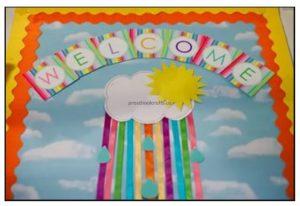 back to school bulletin board ideas for preschool and kindergarten