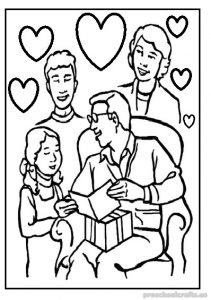 free printable happy fathers day coloring pages for preschool