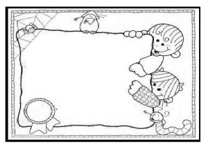 happy mothers day coloring page for kids