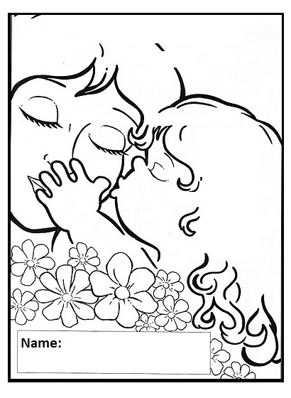 happy mothers day coloring pages for preschooler