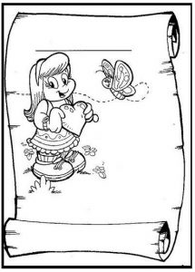mothers day coloring page for kids