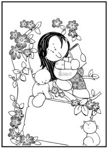 mothers day coloring pages for preschoolers