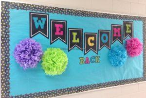 welcome to school bulletin board ideas