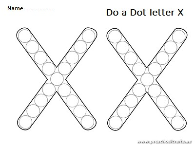 do a dot uppercase letter x worksheet preschool crafts. Black Bedroom Furniture Sets. Home Design Ideas