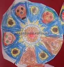 Easy Mandala Art Activities for kid