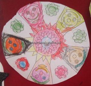 Easy Mandala Art Activities for kindergarten