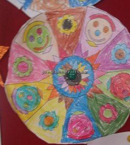 Easy Mandala Art Activities for toddler