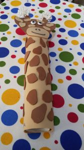 Giraffe craft ideas for 1st grade