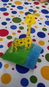 Giraffe craft ideas for 1st graders