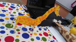 Giraffe craft ideas for firtst grader